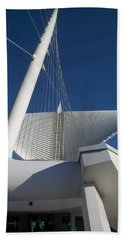 Milwaukee Art Museum Cropped Bath Towel