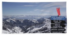 Mineral Basin Hand Towel by Adam Jewell