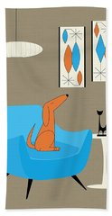 Mini Gravel Art With Dog Bath Towel