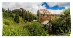 Mining Buildings In Silverton Hand Towel