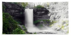Minne Haha Falls Bath Towel
