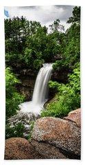 Minnehaha Falls Bath Towel