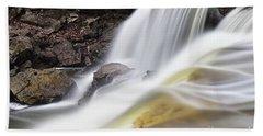 Minneopa Falls Closeup Hand Towel