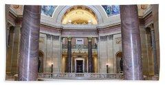 Minnesota House Doors Bath Towel