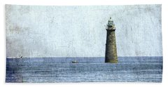 Minot Ledge Light Bath Towel