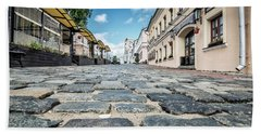 Minsk Old Town Hand Towel