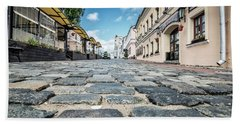 Minsk Old Town Bath Towel