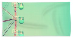 Mint Carnival Bath Towel