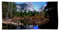 Mirror Lake Hand Towel