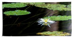 Mirror Lily Hand Towel
