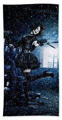 Miss Edward Scissorhands Bath Towel