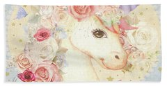 Miss Lolly Unicorn Bath Towel