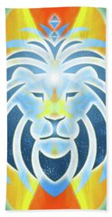 Hand Towel featuring the digital art Mission Piece 2b Lions Gate by Ginny Gaura