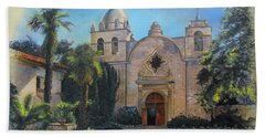 Mission San Carlos In Carmel By The Sea Hand Towel