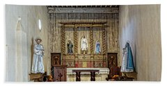 Hand Towel featuring the photograph Mission San Juan Capistrano Sanctuary - San Antonio by Stephen Stookey