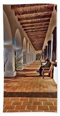 Mission San Luis Rey Bath Towel by Karyn Robinson