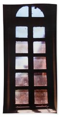 Mission Window Hand Towel by M Diane Bonaparte