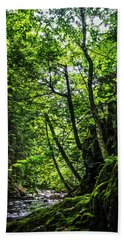 Hand Towel featuring the photograph Missisquoi River In Vermont - 1 by James Aiken