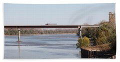 Missouri River At Boonville Hand Towel