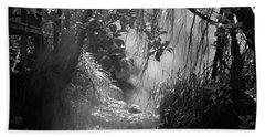 Mist In The Jungle Bath Towel by Susan Lafleur