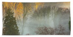 Mist In The Park Hand Towel