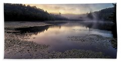 Bass Lake Sunrise - Blue Ridge Parkway Hand Towel