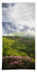 Rhododendrons - Roan Mountain Bath Towel
