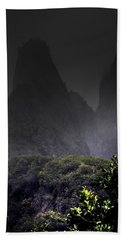 Mist Over Iao Needle Bath Towel