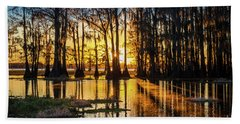 Misty Caddo Dawn Hand Towel