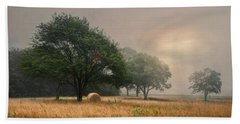 Misty Fields Hand Towel by Robin-Lee Vieira