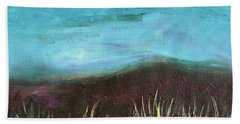 Misty Moors Hand Towel by Donna Blackhall