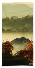 Misty Morning			 Hand Towel by Mariola Bitner