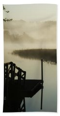 Misty Oregon Morning Bath Towel