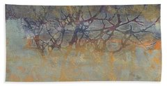 Misty Trees Bath Towel