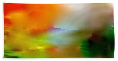 Bath Towel featuring the digital art Misty Waters by Patricia Schneider Mitchell
