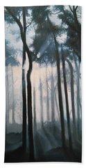 Misty Woods Hand Towel