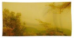 Misty Yellow Hue- El Valle De Anton Hand Towel