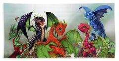 Mixed Berries Dragons Hand Towel