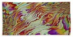 Bath Towel featuring the digital art Mixed by Matt Lindley
