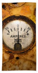 Mm Amperes Gauge Bath Towel