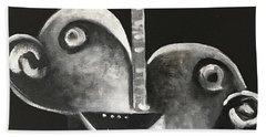 Mmxvii Masks For Despair No 2  Hand Towel