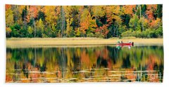 Mn Fall Fishing Bath Towel