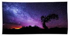 Moab Skies Hand Towel by Chad Dutson