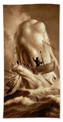 Moby Dick 2 Hand Towel