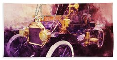 Model-t Commercial Roadster Hand Towel