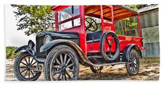 Model T Delivery Hand Towel
