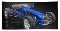 Model T Ford Track Roadster Bath Towel by Gary Warnimont