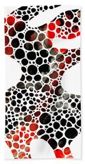 Modern Art - Colorforms 7 - Sharon Cummings Bath Towel