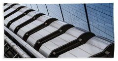 Lloyds Building Bank In London Hand Towel by John Williams