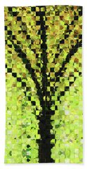 Modern Landscape Art - Pieces 10 - Sharon Cummings Hand Towel by Sharon Cummings